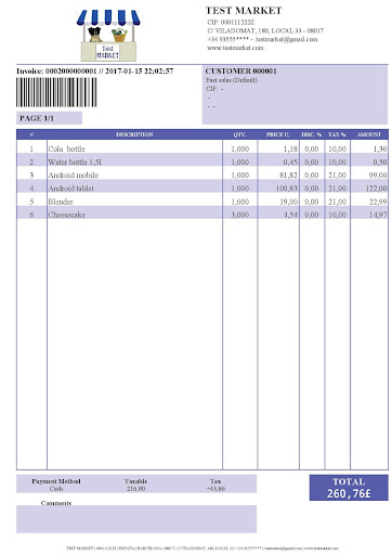 download pos receipt invoice google play softwares