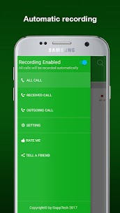 Automatic Call Recorder PRO by GHStudio v1.0.2 APK [Latest] 1