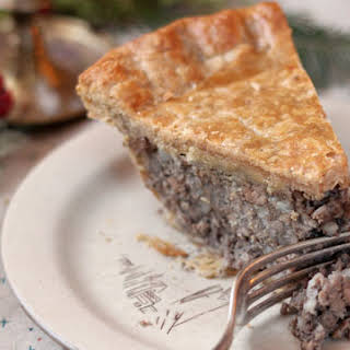 Classic French Canadian Tourtière.
