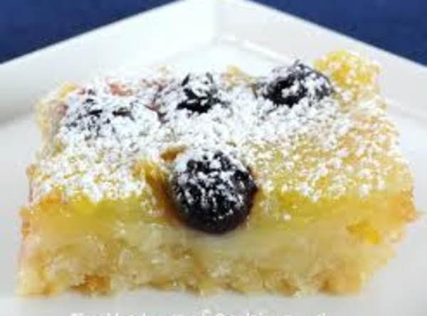 Coconut-blueberry Bars Recipe