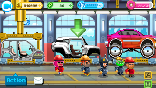 Motor World Car Factory Mod Apk 1.9035 6