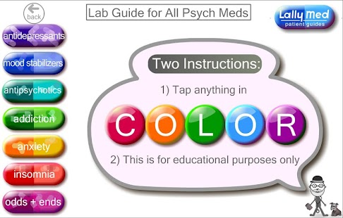 Psych Meds Lab Guide- screenshot thumbnail