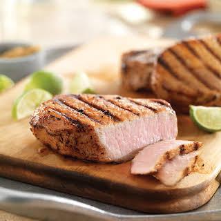 Cuban Pork Adobo Chops.