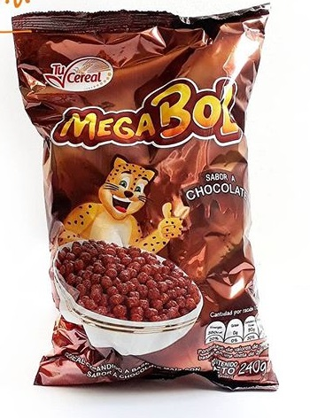 cereal mega bol chocolate 240gr