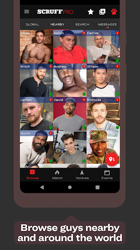 Trans Friendly Dating Apps: SCRUFF 6.2501 APK By Perry Street Software Details