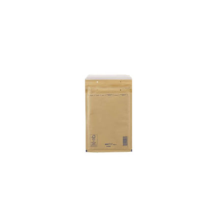 Luftbubbelpåse Gold/Brun Nr10 50st
