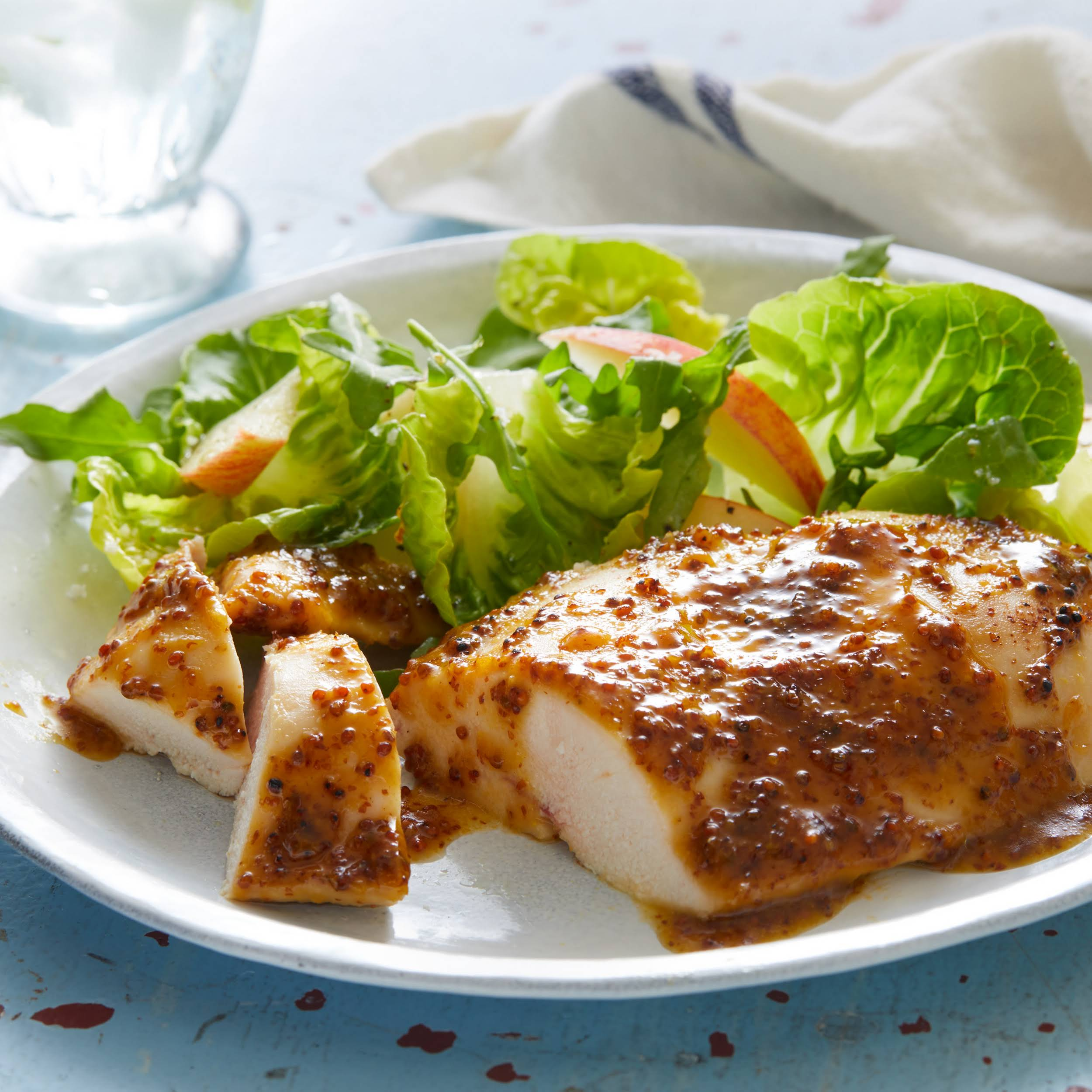 5 Ingredient Honey Mustard Chicken Breasts Recipe Yummly