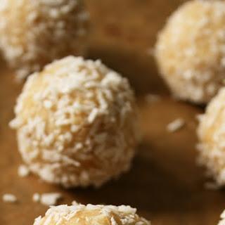 Ferrero Raffaello Balls (using millet!) | vegan & gluten-free.
