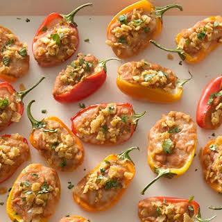 Taco-Stuffed Mini Sweet Peppers.