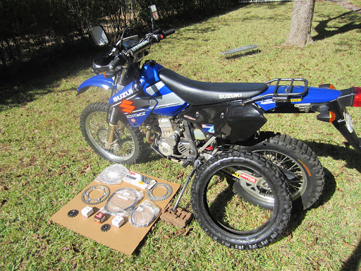 Georgia Off Road • View topic - SOLD !!! 2002 Blue DRZ400 S