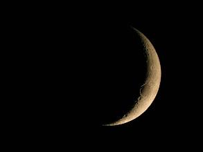 Photo: Luna nei primi giorni dalla Luna nuova