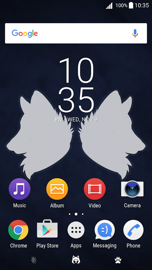Wolf Pack Theme- screenshot