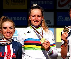 """Zoe Bäckstedt geeft duiding bij aparte sprint op WK en blijft even in België: """"Begin aan veldritseizoen in Meulebeke"""""""