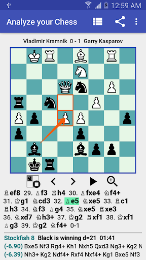 Analyze your Chess - PGN Viewer  captures d'écran 1