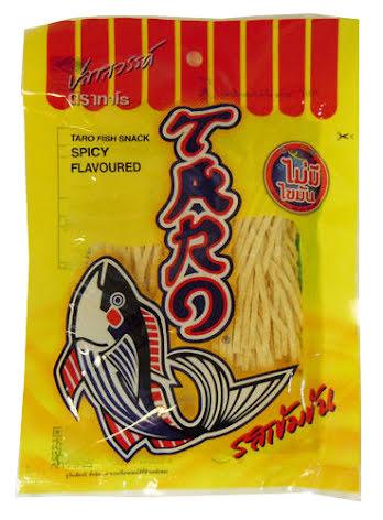 Taro Fish Snack Spicy