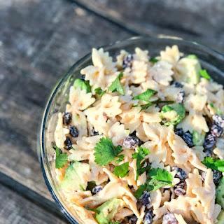 Spicy Ranch Black Bean Salad with Avocado Cilantro and Lime Recipe