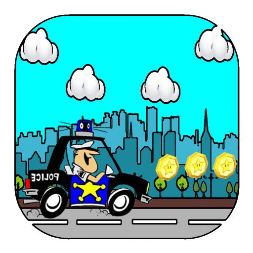 Police Car Traffic Race