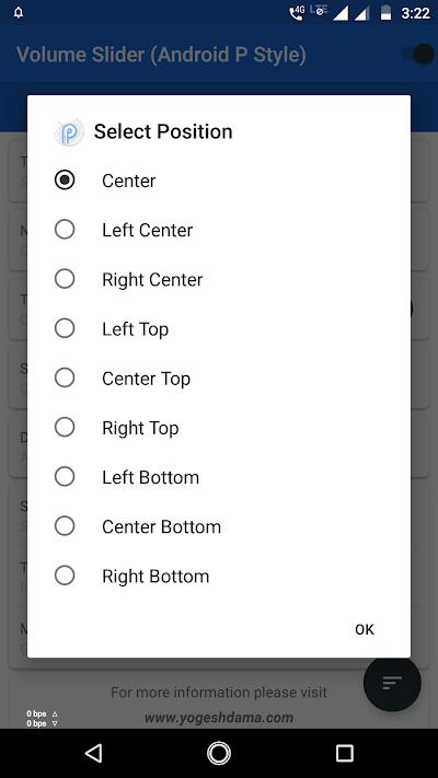 Volume controls android p - P Volume controls Free APK Download
