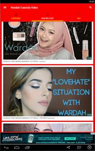 Wardah Tutorials Video - náhled