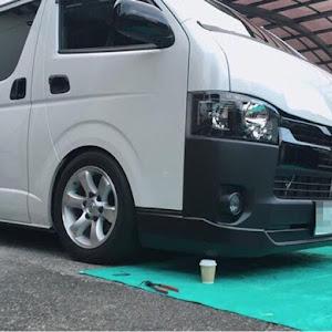 ハイエースバン GDH201V SUPER- GLのカスタム事例画像  箱バン☆200(KDH200V)さんの2018年09月01日19:07の投稿