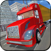Heavy Truck Cargo Transport 3d