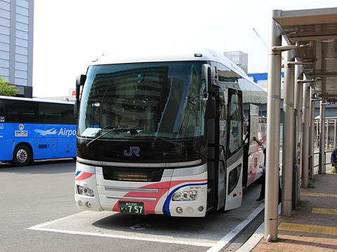 西日本JRバス「北陸ドリーム四国号」 金沢・797 高知駅バスターミナル到着_02