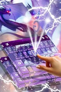 Free 2017 Blue Dragon Keyboard - náhled