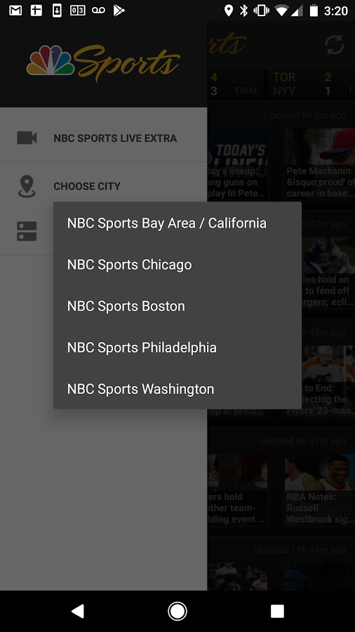 NBCS Local Sports- screenshot