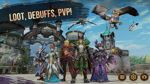 Era of Legends - World of dragon magic in MMORPG 3.0.0.0 androidappsheaven.com 1