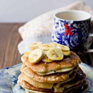 Gluten Free Banana Pancakes