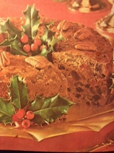 Golden Fruitcake **excellent Recipe
