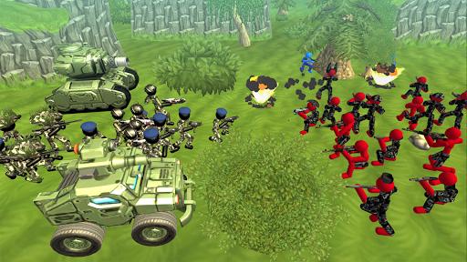 Stickman Tank Battle Simulator 1.06 screenshots 2