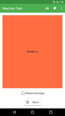 Reaction Test - screenshot