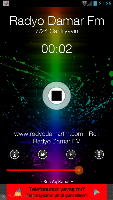 Radyo DamarFM Yeni- screenshot