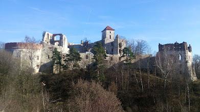 Photo: GB230010 Rudno - ruiny Zamku Tenczyn