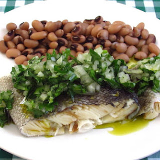 Cod With Black-eyed Beans