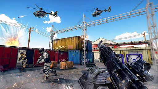 Télécharger gratuit FPS Encounter Strike: Terrorist Squad Gun Shooting APK MOD 1