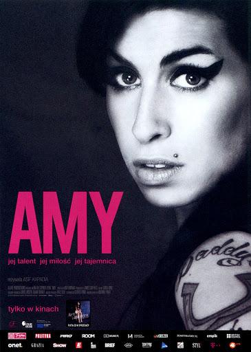 Przód ulotki filmu 'Amy'