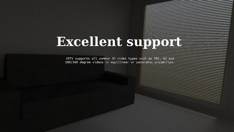 VRTV VR Video Player Screenshot 2