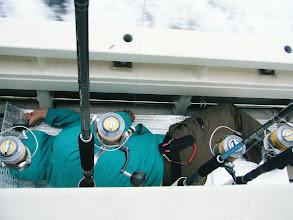 Photo: 昼過ぎ、ヨコワ、何度か跳ねて 何度かストライクキャストもあったんですが・・・。喰わず。 難しいですね。