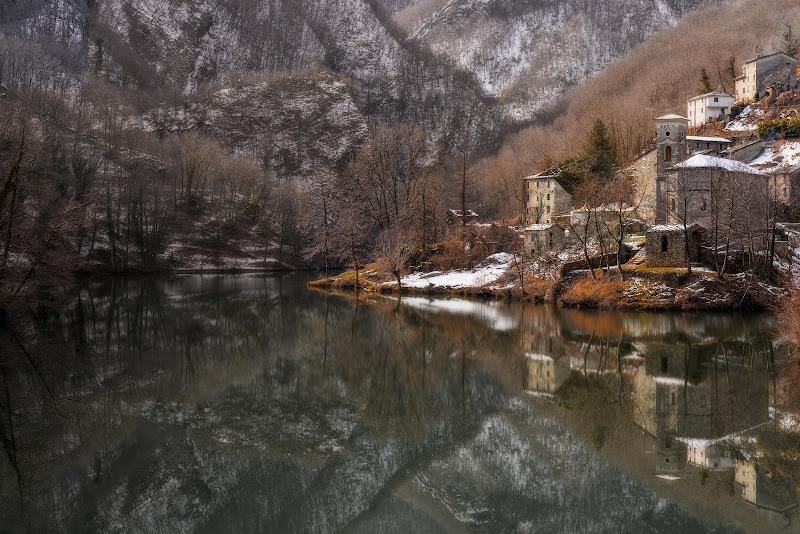 Spruzzata di neve all'Isola Santa  di Luca160