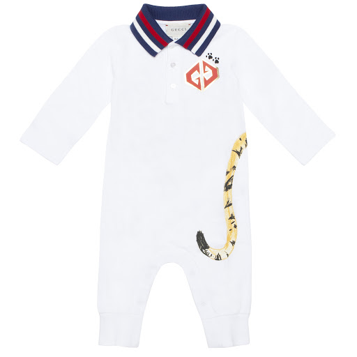 Primary image of Gucci Boys Tiger Babygrow