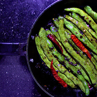Asian Style Green Beans Stir Fry
