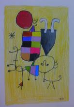 Photo: Paula 5ºC -Collage Miró-