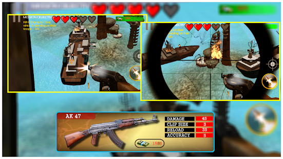 Helicopter Gunner Strike WAR 2 screenshot