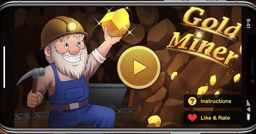Gold Miner Plus - Bearded old miner  captures d'écran 1