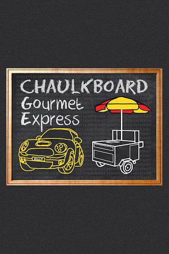 ChaulkBOARD Gourmet Express