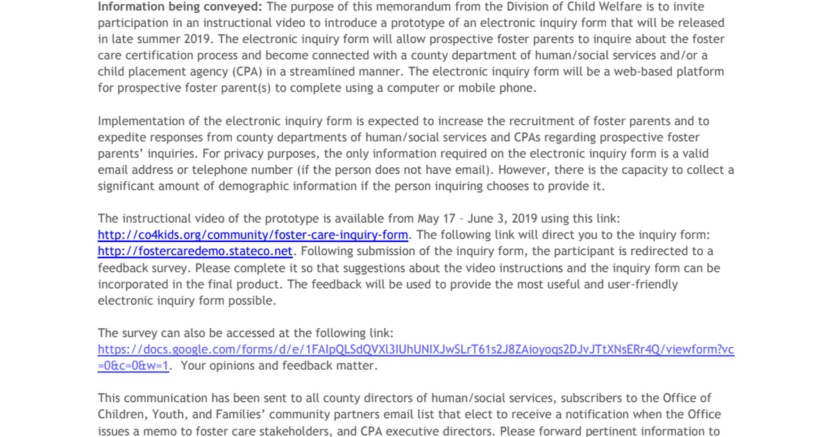 IM_CW_2019_0024_CORRECTED_VIDEO_LINK Invitation to