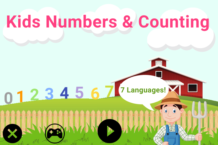 Kids Numbers. Learn to count- screenshot