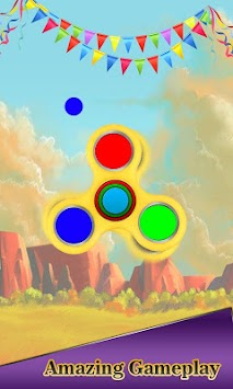 Download Tappy Fidget Spinner Color Wheel Simulator 3d Apk Latest